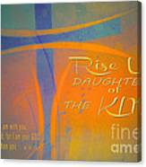 Daughters Of The King Canvas Print