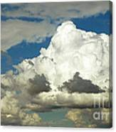 Daunting Sky Canvas Print
