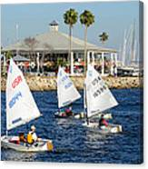 Davis Island Yacht Club Canvas Print