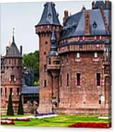 De Haar Castle. Utrecht. Netherlands Canvas Print