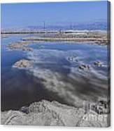 Dead Sea Landscape Canvas Print