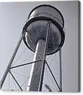Deer Lodge Montana Water Tower Canvas Print
