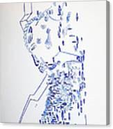 Deity - Nhialic - South Sudan Canvas Print