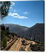 Delphi - Greece Canvas Print