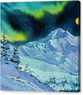 Denali Night Canvas Print