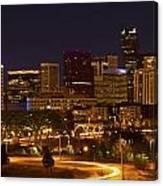 Denver Skyline Canvas Print