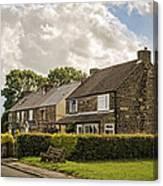 Derbyshire Cottages Canvas Print