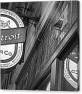 Detroit Beer Company  Canvas Print