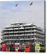 Diamond Jubilee Weekend At The Derby Horse Race On Epsom Downs  Canvas Print