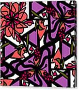 Digi-flora Canvas Print