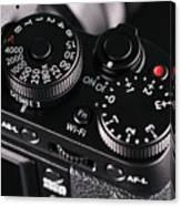 Digital Slr Camera Canvas Print