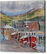 Dingle-harbour-ii Canvas Print