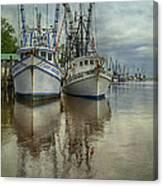 Docked Canvas Print