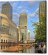 Docklands London Canvas Print