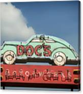 Doc's Bar And Grill Canvas Print