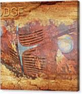 Dodge In Rust Canvas Print