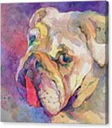 Dog-tired Canvas Print