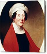 Dolley Payne Todd Madison (1768-1849) Canvas Print