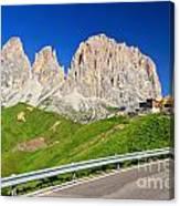 Dolomiti - Sella Pass Canvas Print