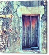 Door To Nowhere Canvas Print