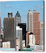 Downtown Atlanta Canvas Print
