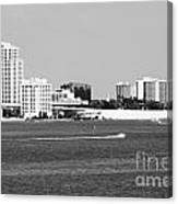Downtown Clearwater Skyline Canvas Print