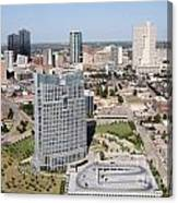 Downtown Fort Worth Skyline Canvas Print