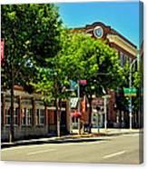 Downtown Pullman Washington Canvas Print