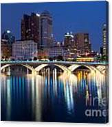 Downtown Skyline Of Columbus Canvas Print