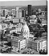 Downtown Skyline St. Paul Minnesota Canvas Print