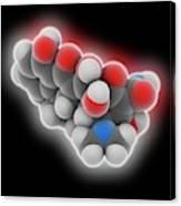 Doxycycline Drug Molecule Canvas Print