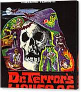 Dr. Terrors House Of Horrors, Poster Canvas Print