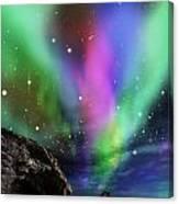 Dramatic Aurora Canvas Print