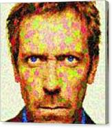 Dr. House - Maple Leaves Canvas Print