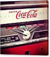Drink Coca Cola Canvas Print