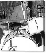 Drummer Gene Krupa Canvas Print