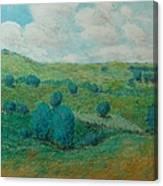 Dry Hills Canvas Print