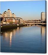 Dublin At Dawn Canvas Print