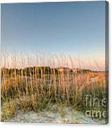 Dunes To Lighthouse Canvas Print