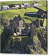 Dunluce Castle, Bushmills Canvas Print