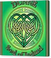 Dunne Soul Of Ireland Canvas Print