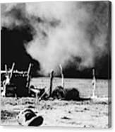 Dust Bowl, 1935 Canvas Print