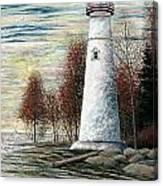 Eagle Bluff Light Canvas Print