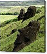 Easter Island 17 Canvas Print