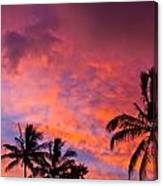 Easter Island Sunrise 2 Canvas Print