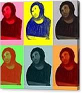 Ecce Homo - Warhol Style Canvas Print