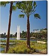 Echo Park L A  Canvas Print