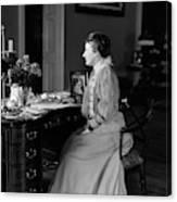Edith Roosevelt (1861-1948) Canvas Print