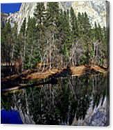 El Capitan Reflection Canvas Print