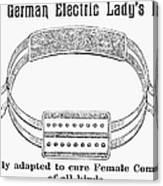 Electric Belt Ad Canvas Print